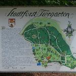 Übersichtsplan für den angrenzenden Tiergarten