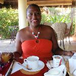 at breakfast canouan resort