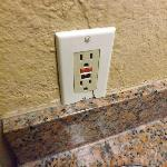 broken outlet