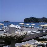 Great bar on the beach with tasty Italian cuisine