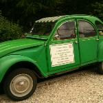 Paul and Val's Citroën 2CV. Not just for