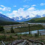 Glacier Lake Hike Overlook (about 3 km from trail heed)