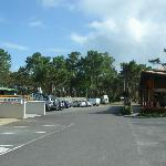Camp site grounds