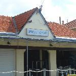 the Australia bar (shut when we were there)