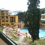 Innenhof mit Hotel-Pool