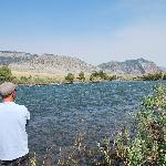 The Yellowstone river at the Headwaters B and B