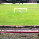 a 5 minute walk from Hampden, Cathkin Park home of former team Third Lanark.