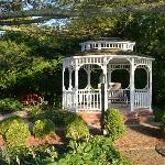 Gazebo on the beautiful grounds