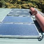 Solar panels for your shower!