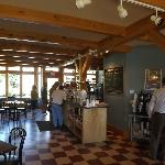 Interior, Old Post Office Cafe