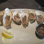 oysters and horseradish pearls