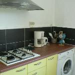 Kitchen w/coffee maker