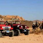 Jeep and Camel Ride excursion Combo