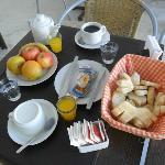 Desayuno serrano
