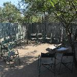 Boma (outside dining area - certain nights)