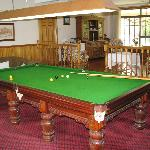 Billiards Room in Guest House