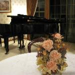 Grand Piano at the Guest House