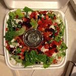 Large Black Sea Salad