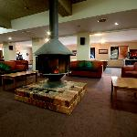 Guest Lounge with log fire