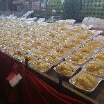 Durian stall nearby