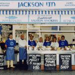 Fishmonger shop front