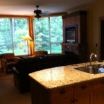 Juniper Lodge - Timberline Lodges - view from Kitchen