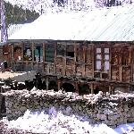 Typical Kinnauri wooden house at Chitkul