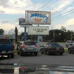 Jinright's Seafood Sign