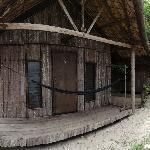Exterior of Oceanview Huts