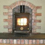 Cosy wood-burning stove