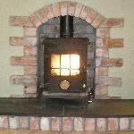 Cosy wood-burning stove