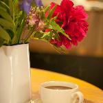 All tea and coffee in the tearoom is fairtrade and organic at competitive prices