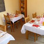 Frühstücksraum im Holmleigh House
