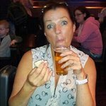 my wife at the windmill pub. Great night out and win the cash bingo to boot