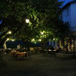 Terrasse du restaurant Le Plantevin