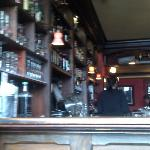 View of the bar from the south window seat