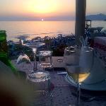 Sea Breeze restaurant sunset