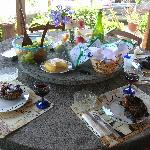 Our amazing Azorean feast!