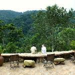 Bwindi Lodge Veranda