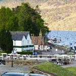 View to the Loch Ness