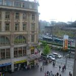 View of Train station from Hostel
