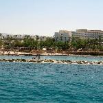 hotel veiw from boat trip