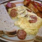 Egg linguica scramble