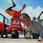 kids next door village showing their dance move :)