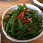 Spicy Green Beans with Prosciutto