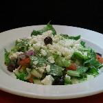 All salads are made to order - yum