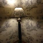Hôtel Le Manoir Epinal détail chambre Jouy