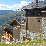 vue sur la montagne et la vallée