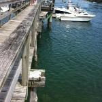 dock near restaurant