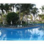 Poolside at the Mayan Sea Garden